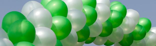 Barnados Balloons at the London Marathon