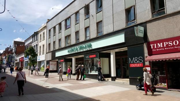 Marks & Spencer, Aldershot
