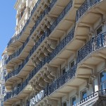 Brighton's Grand Hotel's balconies