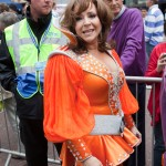 Harriet Thorpe as Tanya from Mamma Mia! at West End Live 2010