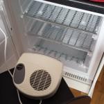Drfrosting the freezer, Farnham