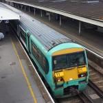 Green train, Aldershot
