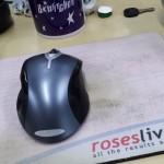 roseslive.com mousemat, Aldershot