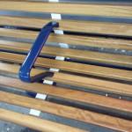 Station bench, Aldershot