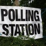 Polling station, Aldershot