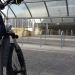 Bike parking, Farnham