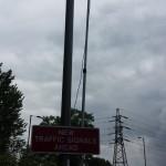 Traffic monitoring camera, Farnham