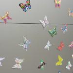 Paper butterflies, Aldershot