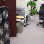 Makeshift office cooling, Aldershot