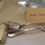 Wedding breakfast table, Farnham Castle