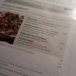 Slug and Lettuce menu, Farnham