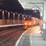 Working train, Aldershot