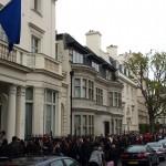 Romanian elections, London