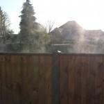 Steaming fence, Farnham