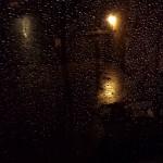 Rain on window, Farnham
