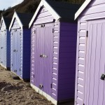 Beach huts, Bournemouth