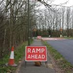 Ramp Ahead, 6 Bells Roundabout, Farnham