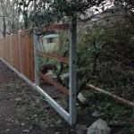 New fence, Aldershot
