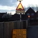 """Advance Warning"", Park Row, Farnham"