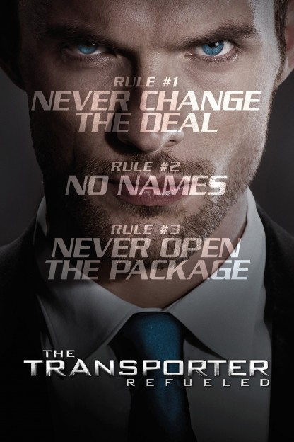 """Poster for the movie """"The Transporter Refueled"""""""