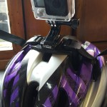 GoPro helmet mount, Aldershot