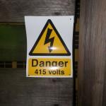 Danger 415 volts, Aldershot