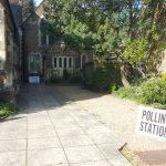 Polling station, Farnham