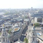 View from St. Pauls, London