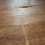 Old wooden floor, Alton