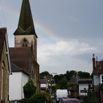 Rainbow over All Saints, Alton