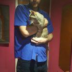 Holding Kitty, Abergavenny