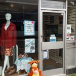 Tigger at the charity shop, Alton
