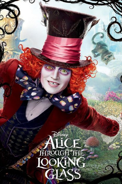 """Poster for the movie """"Alice Through the Looking Glass"""""""