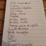 Shopping List, Alton
