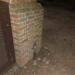 New gas pipe, Aldershot