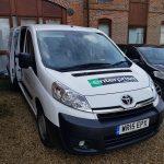 Rental Van, Aldershot
