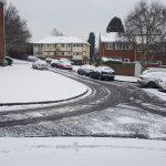 Snow in Woking, Woking