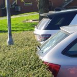 Parking in the bush, Alton