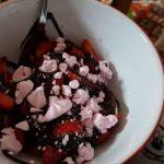 Chocolate messy pudding, Alton