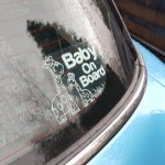 Baby On Board, Aldershot